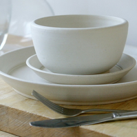 Made to order - A set of two custom place settings for your dinner table