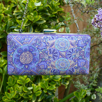 Liberty Fabric Clutch Bag