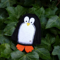SALE Cyril the Penguin Brooch