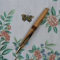 Wooden Pen with Clip of Choice