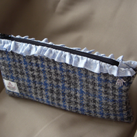 Harris Tweed Make-up Bag - Pencil Case - Pouch
