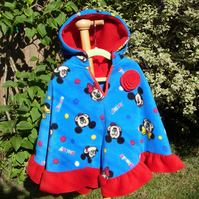 SALE Fleece Cape