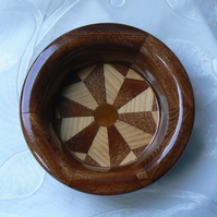 Segmented Wooden Bowl