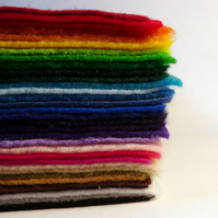 Felt - 'Pick-Your-Own 10' Recycled Felt Sheets