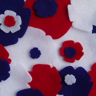 Felt Roses - 'Great British Pack'
