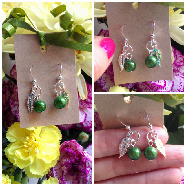 Peas in a Pod Matching Earrings