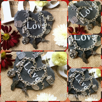 Movie Film Lover Themed Charm Bracelet