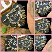 Ballet Themed charm bracelet - Adult