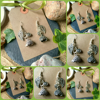 Hedgehog Drop Earrings