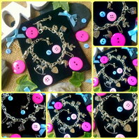 Mum to be or New mum mother charm bracelet :-)