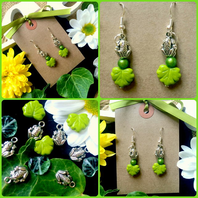 Fun Frog Earrings :-)
