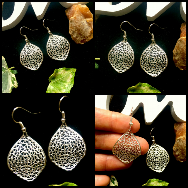 OFFER Ornate Leaf Earrings