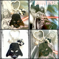 Darth Vader laser cut Star Wars - Bagcharm Keyring