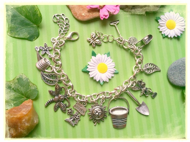 Gardening Lovers Themed Bracelet