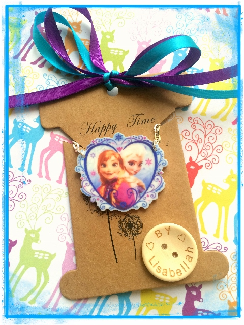 SALE - Childs Frozen Necklace :-)