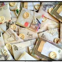 Vintage style Lucky Dip Envelop - Surprise