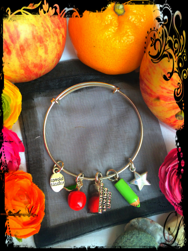 Special Teachers Sliding Bangle