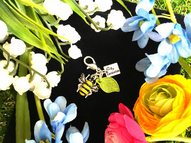 Cute BERTY Bee Charm