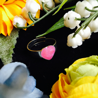 SALE heart ring
