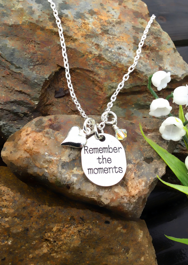 Offer  Remember the Moments tag necklace