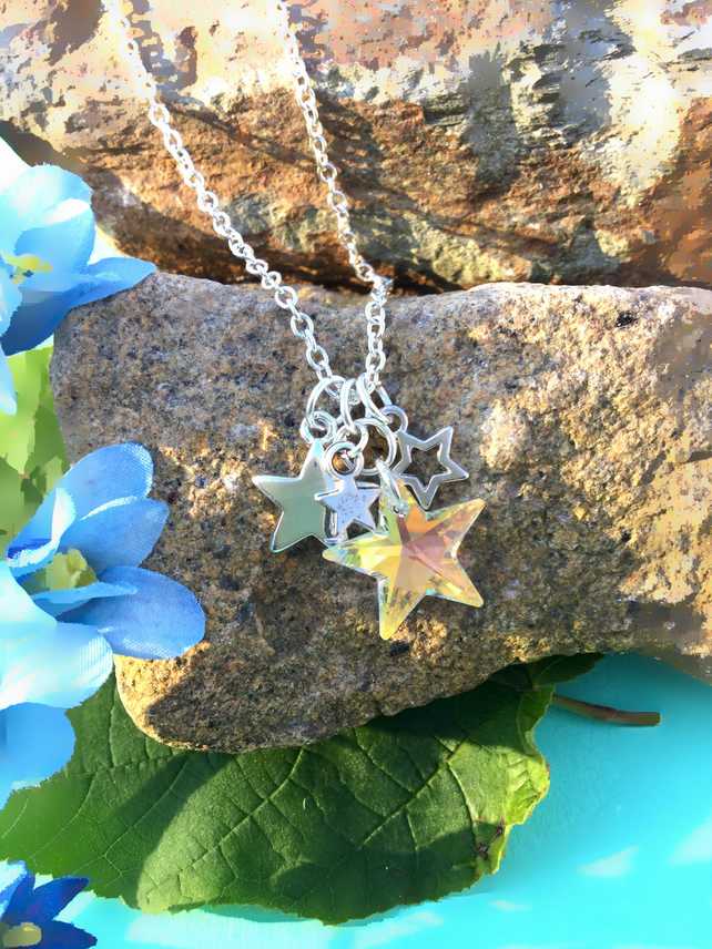 OFFER Swarovski Star necklace