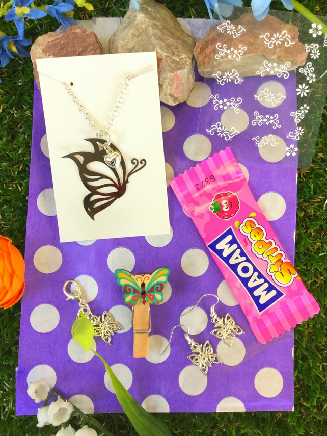 Butterfly Thank You Gift Bag