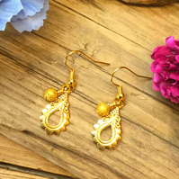 Ornate Drop Earrings