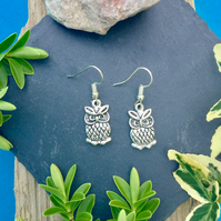 SALE  Owl earrings