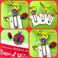 Snail Bookmark and free cute peg