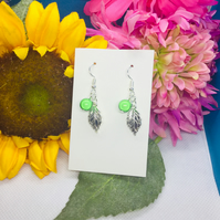 Earrings matching Peas in a Pod range