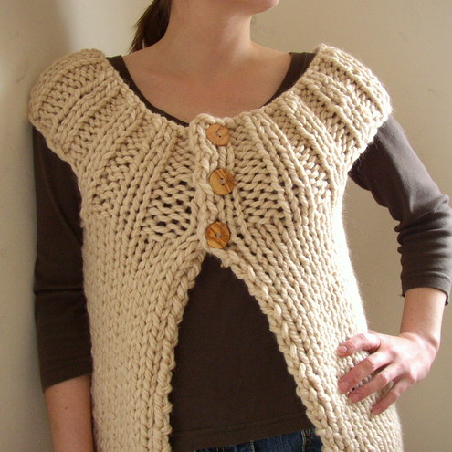 Knitting Pattern Chunky Wool Cardigan : CHUNKY KNITTING PATTERNS FREE DOWNLOADS - VERY SIMPLE FREE KNITTING PATTERNS