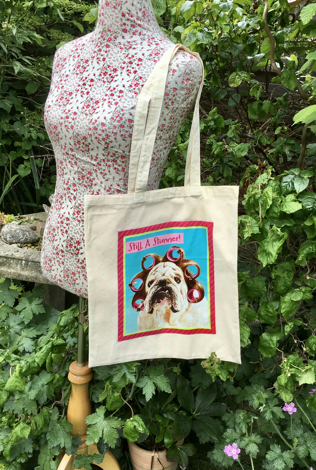 Character Shopper bag, fully lined, washable and reusable. FREE UK Postage.