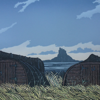 Calm Evening Lindisfarne