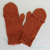 Flip-top Fingerless Mitts