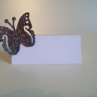 Wedding Table Place Cards - The Butterfly Collection