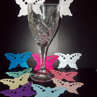 Large Butterflies - Weddings, Christenings, Parties Table/Glass Decorations