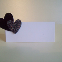 Wedding Stationery - Heart Place Cards - The Hearts Collection