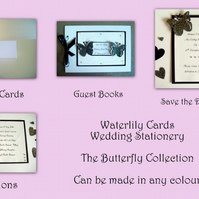 Wedding Stationery Package - Invites,Save the Date Cards,Place Cards,Guest Book