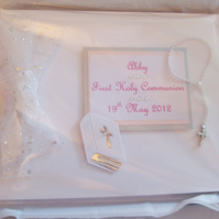 Boxed Personalised First Holy Communion Keepsake Album - Girl or Boy