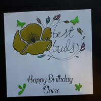 Personalised Female Birthday Card
