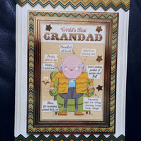 Grandad Birthday Card - Hunkydory