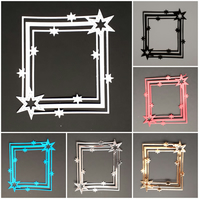 Die Cut Star Frame  Card Topper -  Cardmaking, scrapbooks