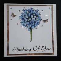 Sympathy Card - Thinking of you Card, Just to say ...