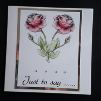 All Occasion Card - Sympathy, Thank You, Get Well, Birthday