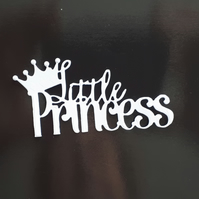 6 Tonic Little Princess Die Cut Sentiments