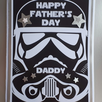 Star Wars Themed Father's Day Card