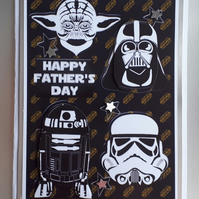 Father's Day Card, Star Wars