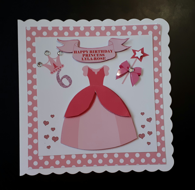 5 BABY/'S FIRST 1ST BIRTHDAY Greeting Card Scrapbook Sentiment Message Banners