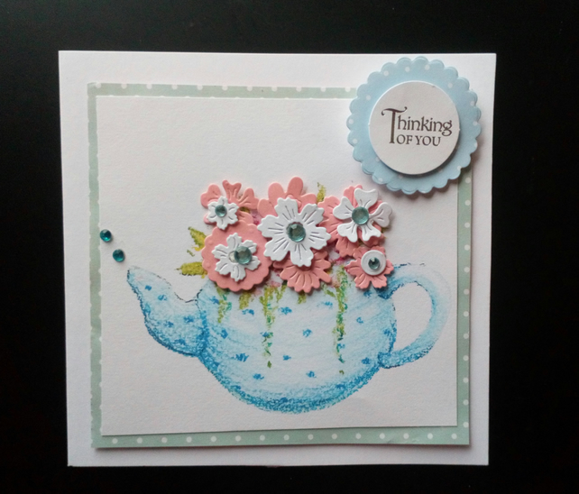 5 THANK YOU NURSERY Greeting Card Craft Scrapbook Sentiment Message Banners