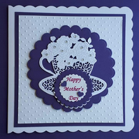 Teacuo Card. Mother's Day, Birthday, Get Well Soon, Thank you